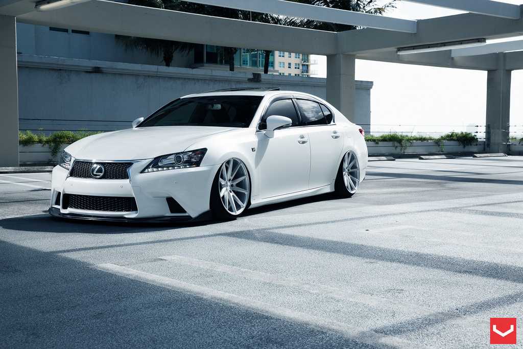 Lexus Gs350 F Sport Vossen Vfs1 20x10 5 All Around 2