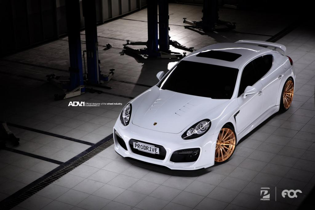 ADV.1 | Techart Widebody Porsche Panamera | Prodrive