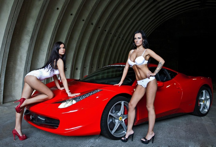 Sexy girls and hot cars