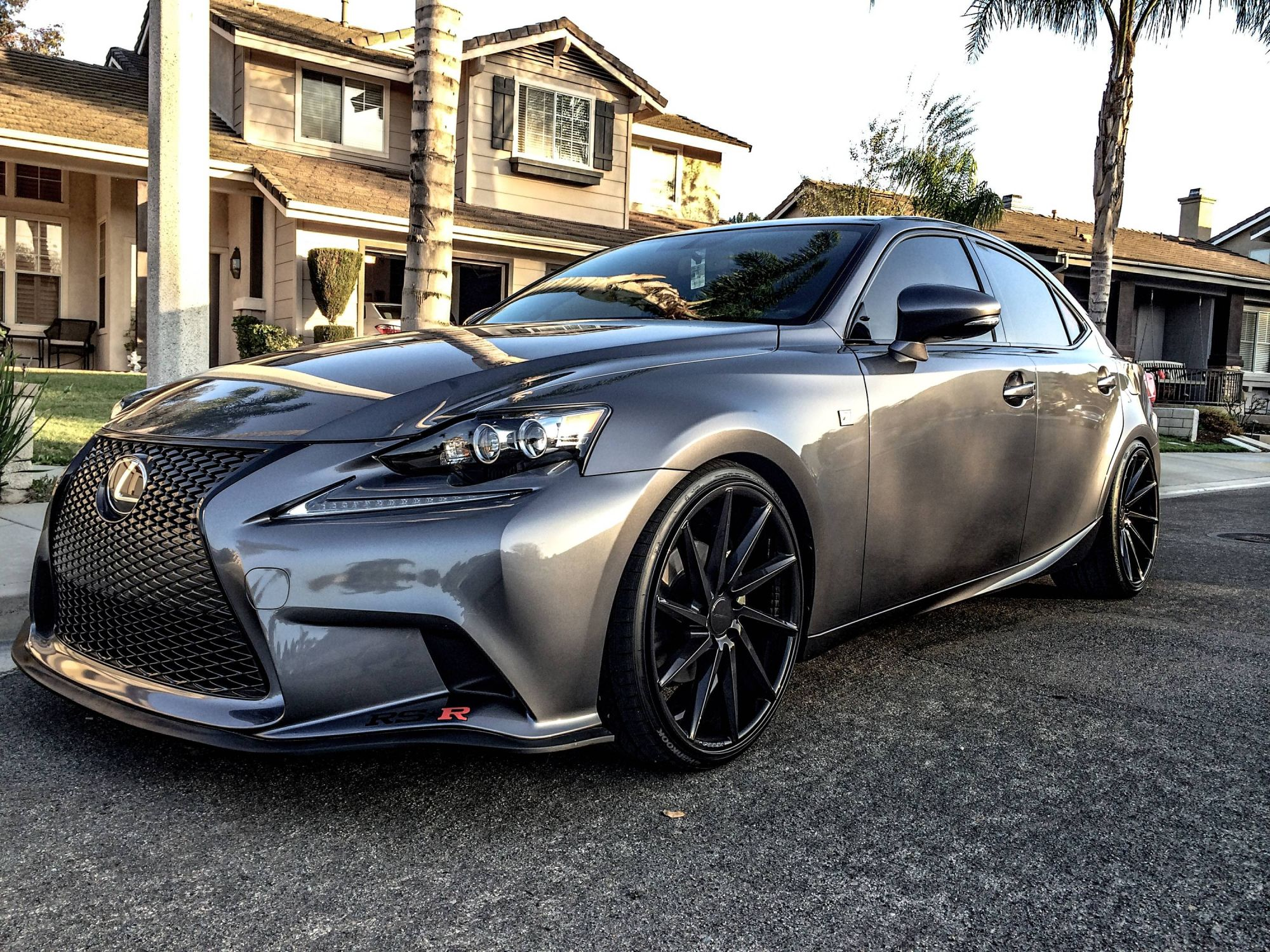 MPPSOCIETY Modified Cars 3isVader Lexus ISI350 Vossen wheels 01