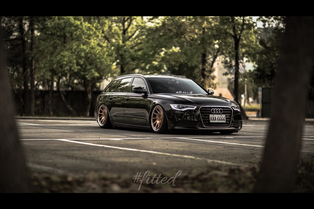 MPPSOCIETY Modified Cars Audi C7 A6 Avant Rotiform Wheels 02