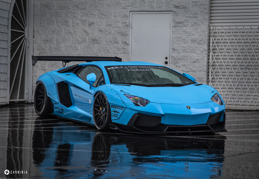 MPPSOCIETY Modified Cars Liberty Walk Aventador Forgiato Wheels 08