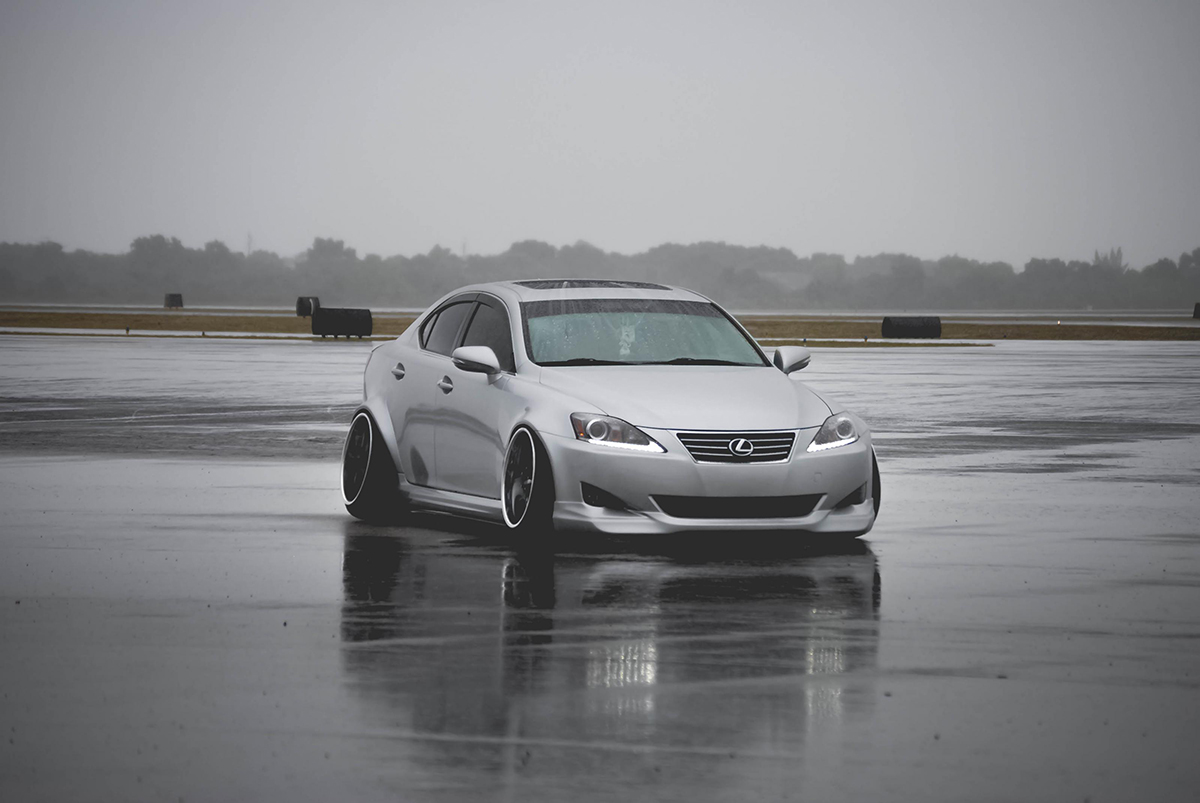MPPSOCIETY Modified Cars Sam_Waltuch Lexus IS350 Work Wheels 01