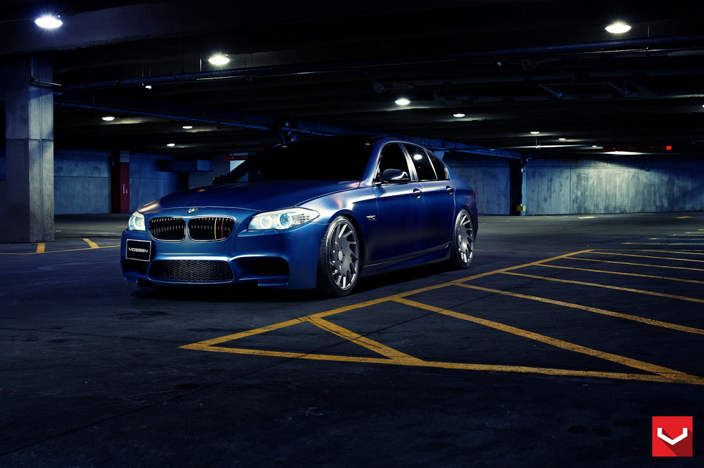 BMW F10 535i on Vossen VLE-1 01