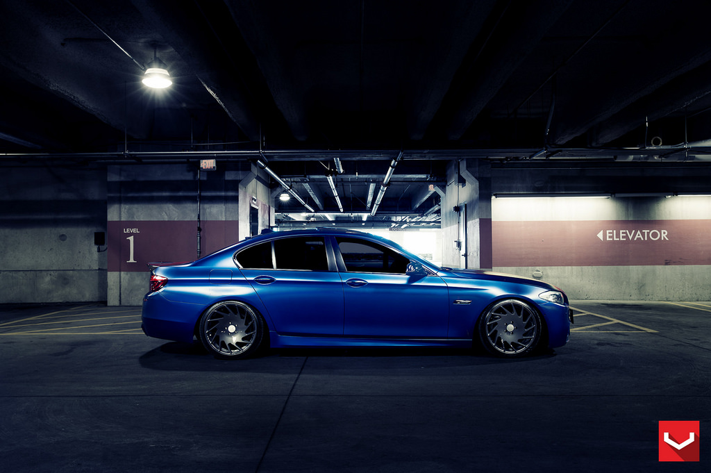 Bmw F10 535i On Vossen Vle 1 Mppsociety