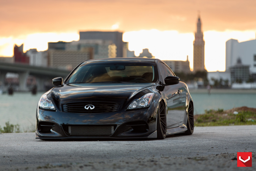 MPPSOCIETY Modified Cars Vossen Diego Infiniti G37s Vossen Wheels 07