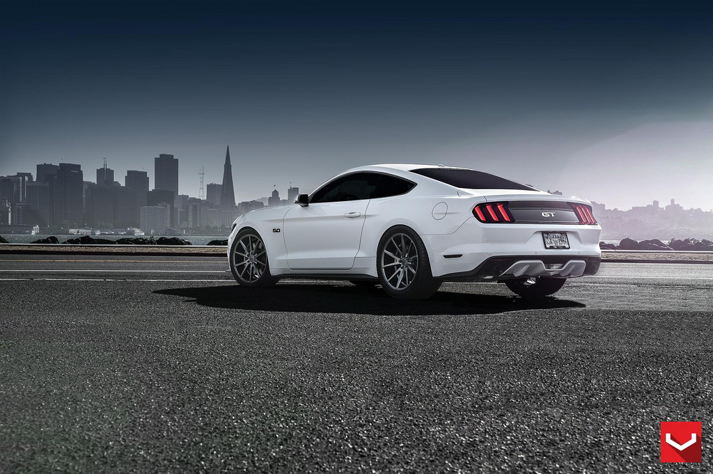 MPPSOCIETY Ford Mustang GT Vossen Wheels 01