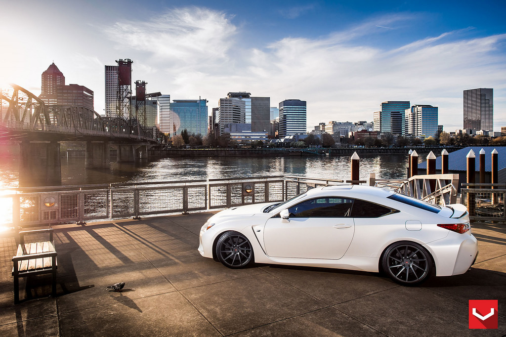 MPPSOCIETY Lexus RC-F Vossen Wheels 01