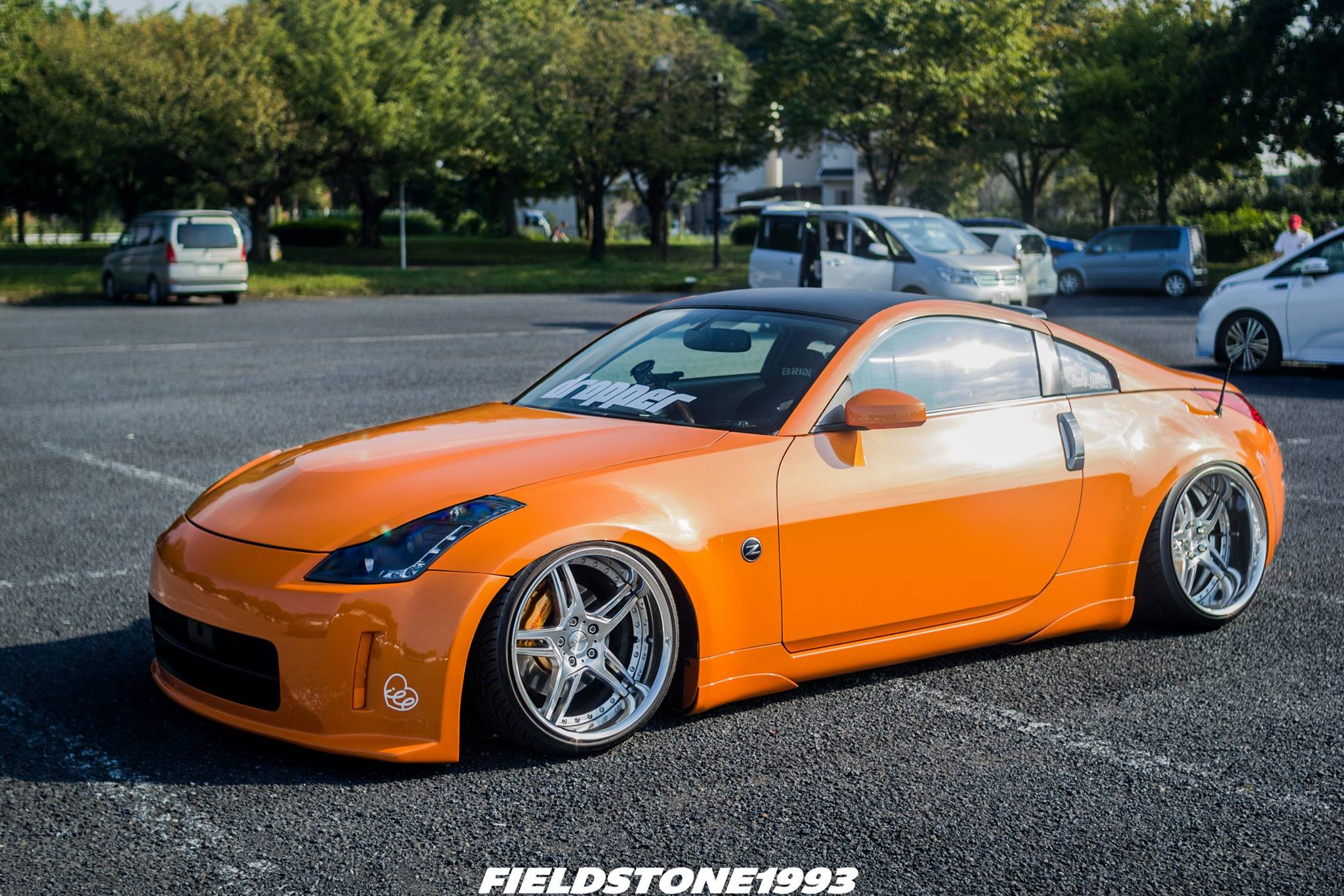 MPPSOCIETY Modified Cars Hisanobu Satou Nissan 350z Work Wheels 02