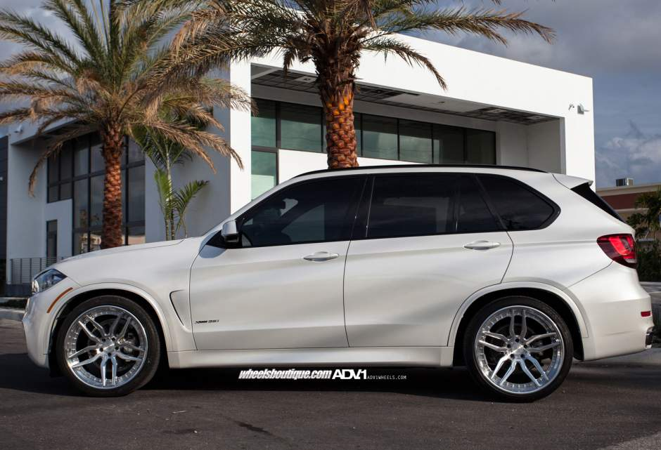 Adv1 Bmw X5 X5m Adv005 Track Spec Cs Custom Forged 3 Piece