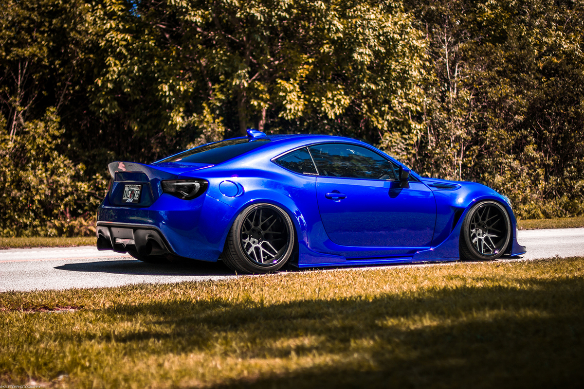 MPPSOCIETY Modified Cars Christopher_5's Widebody Subaru BRZ Watercooledind Wheels 03