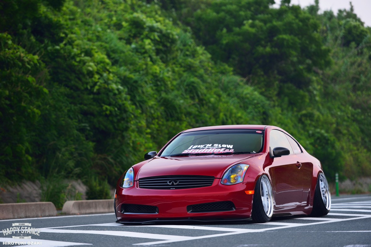 MPPSOCIETY Modified Cars Jun_g35's Infiniti G35 Work Wheels 05