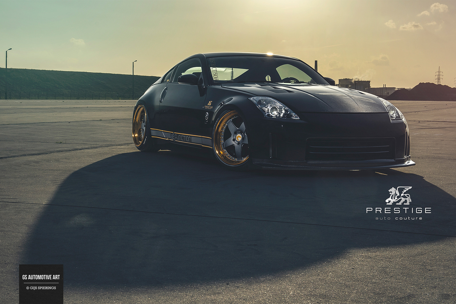 MPPSOCIETY Modified Cars Prestige_auto_couture's Nissan 350z Avant Garde Wheels 01