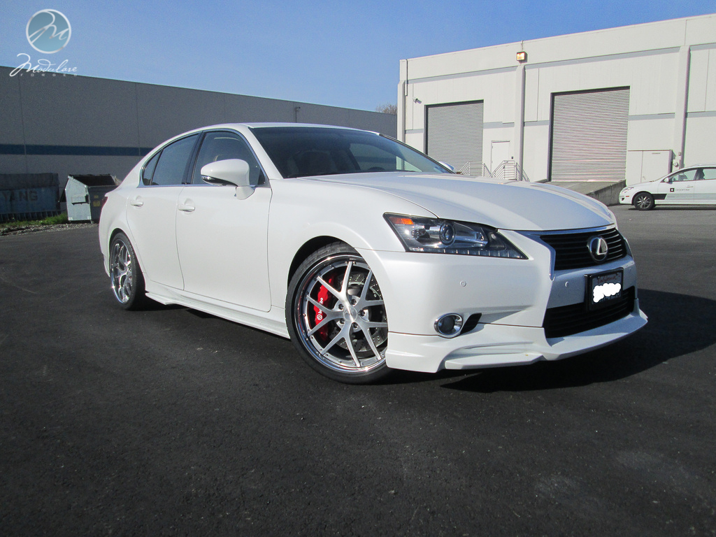 MPPSOCIETY Wald Modulare Wheels Lexus GS350 01