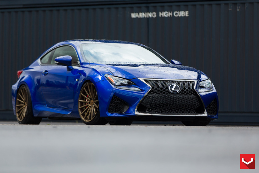 MPPSOCIETY Modified Cars Kdot_vossen Lexus RCF Vossen Wheels 09