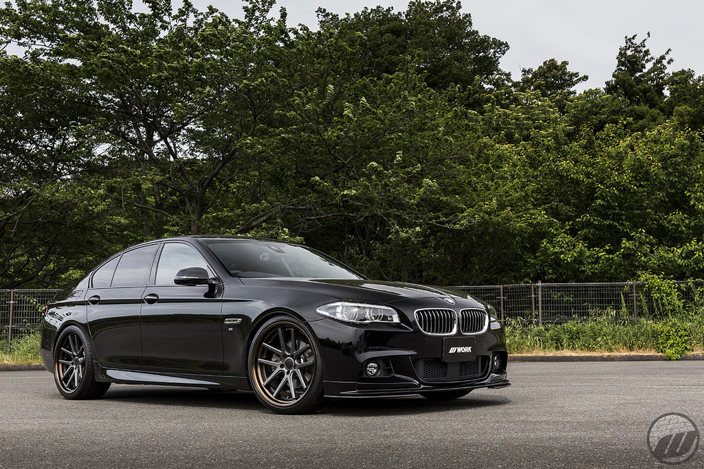 Bmw 5 Series On Work Gnosis Wheels Mppsociety