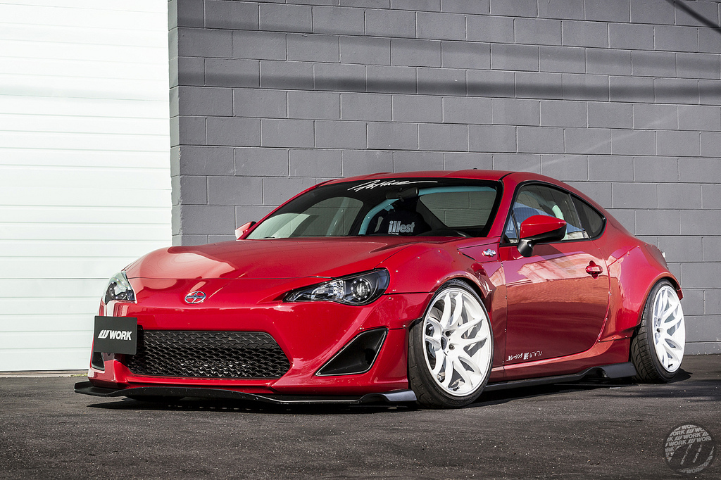 MPPSOCIETY fatlace Scion FRS Work Wheels 04