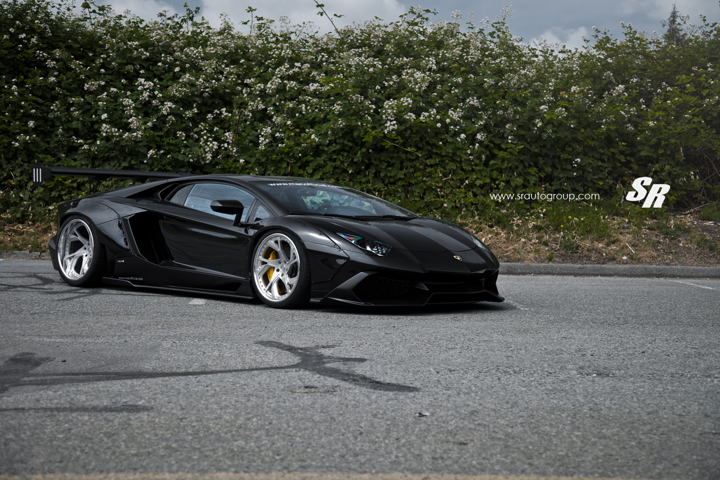 MPPSOCIETY Modified Cars Man.official Liberty Walk Lamborghini Aventador PUR Wheels 01