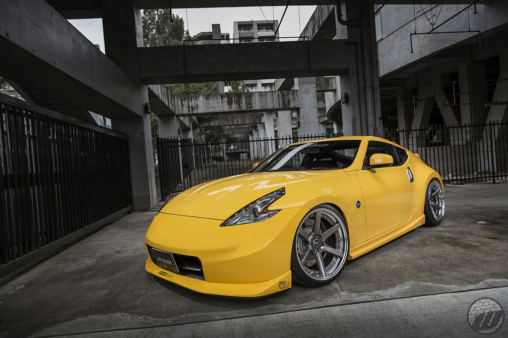 MPPSOCIETY Modifed Car M Confidence Nissan 370z Fairlady Work Wheels 06
