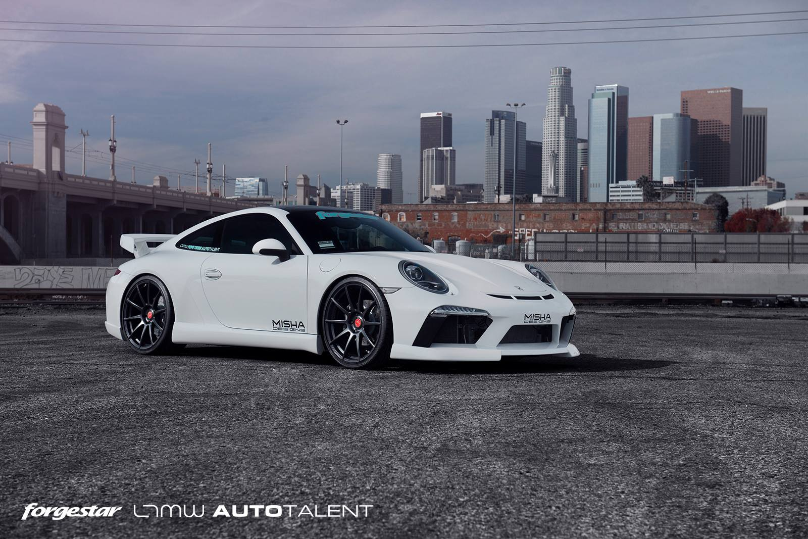 MPPSOCIETY Misha Designs Porsche 991 Forgestar Wheels 01