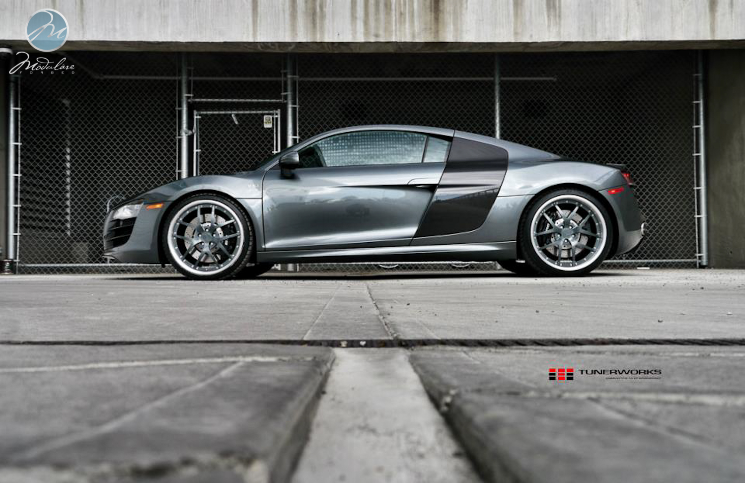MPPSOCIETY Modified Cars Audi R8 Modulare Wheels 02