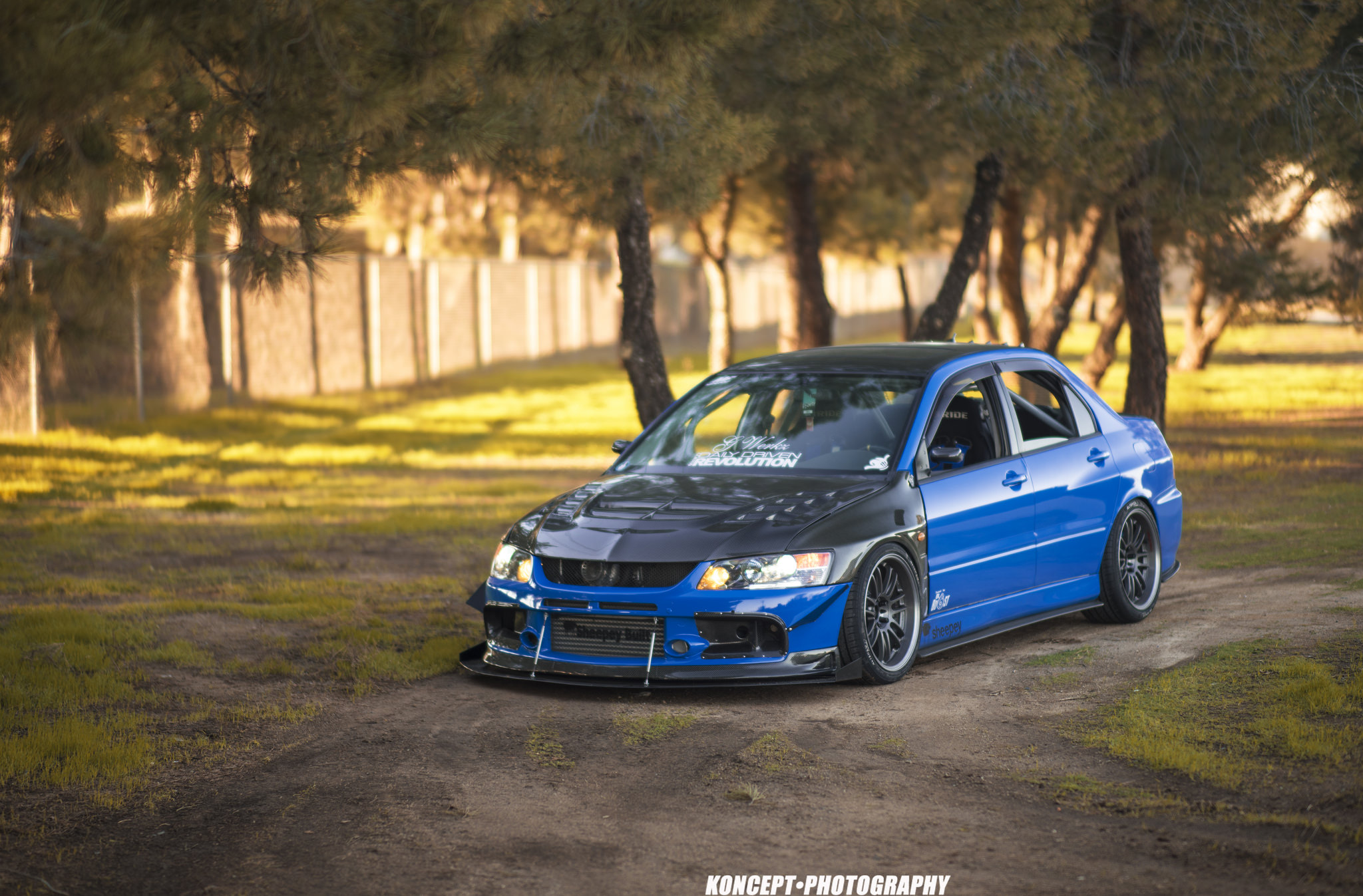 MPPSOCIETY rickey_g Mitsubishi EVO9 Volk Racing RE30 05