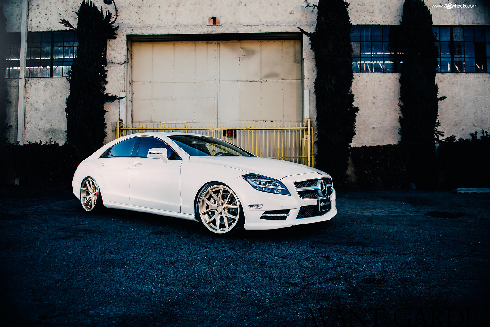 MPPSOCIETY Modified Cars yuya_agwheels Mercedes Benz CLS550 Avant Garde Wheels 01