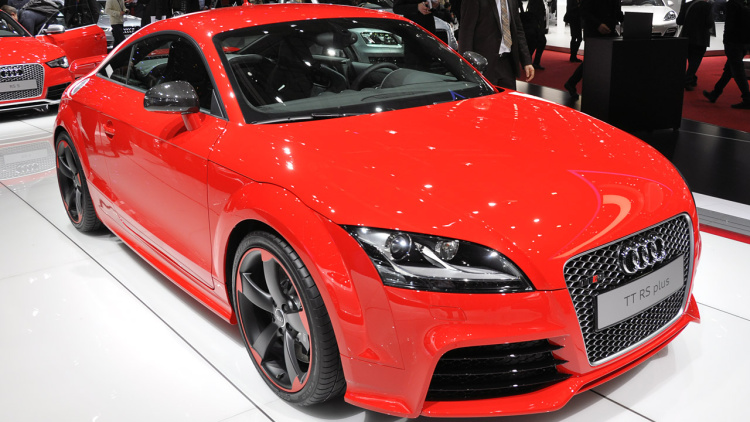 No Manual Transmission For Next Audi TT RS