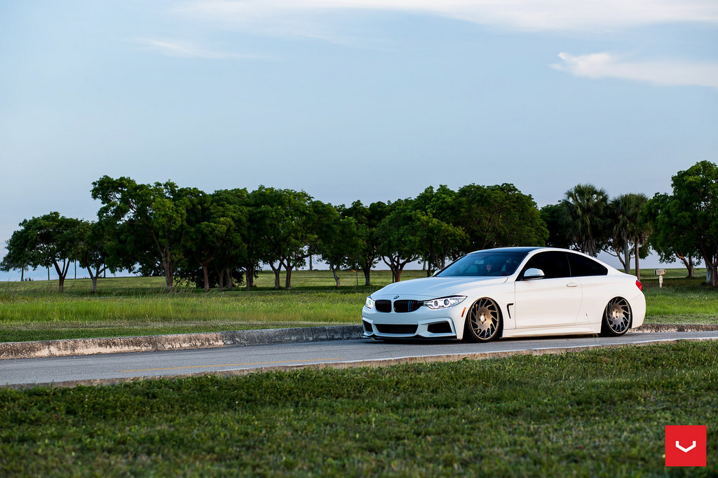 MPPSOCIETY danny_condee Bagged BMW 435I Vossen Wheels 01