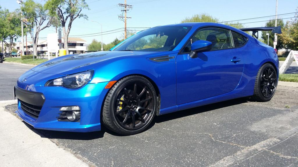 Subaru BRZ Advan Wheels 01