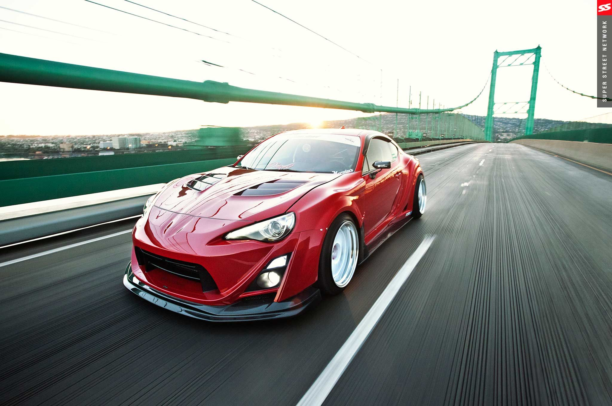 Canibeatnoel's Scion FRS Varis Widebody