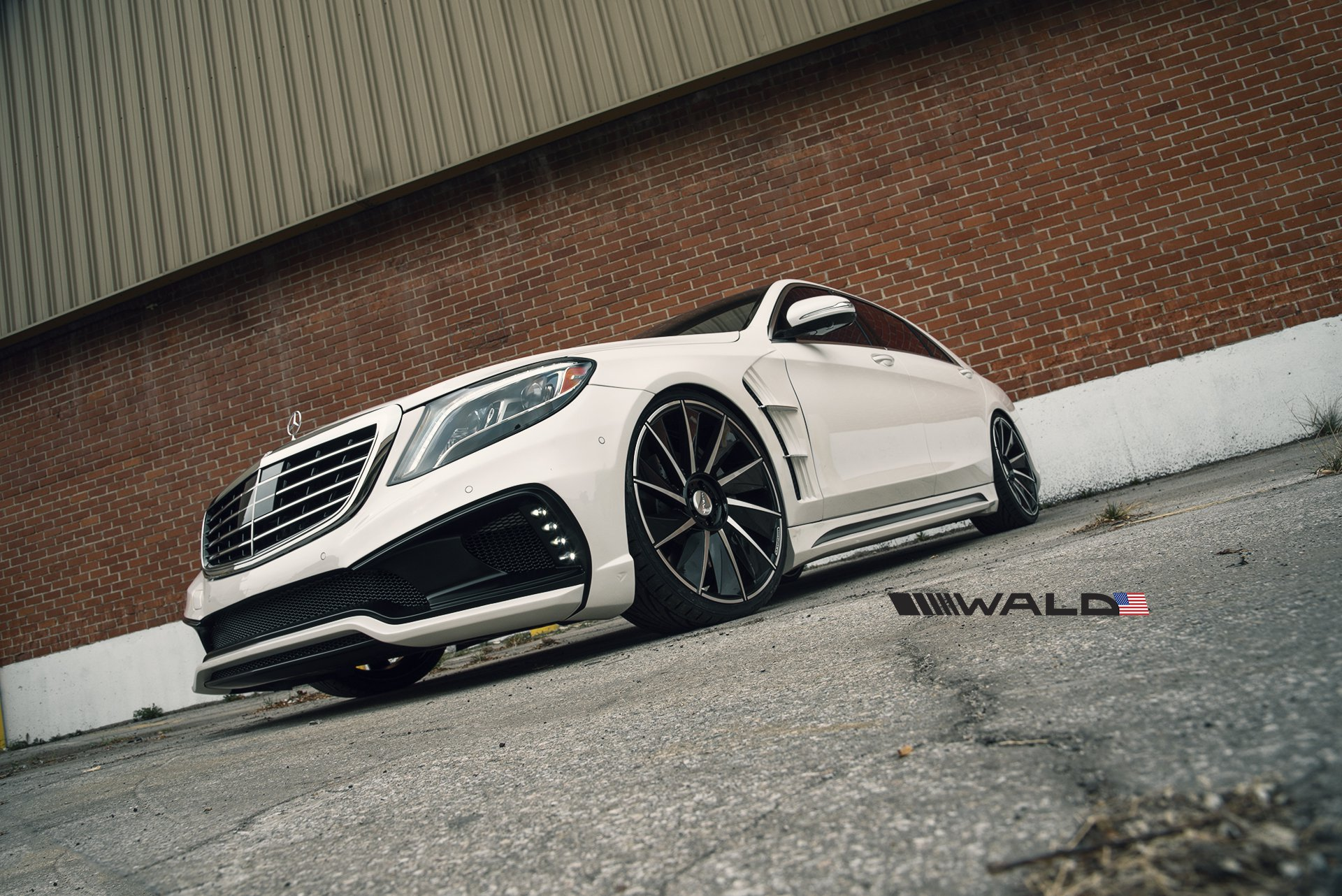 MPPSOCIETY Wald Mercedes Benz S Class W222 Black Bison 05