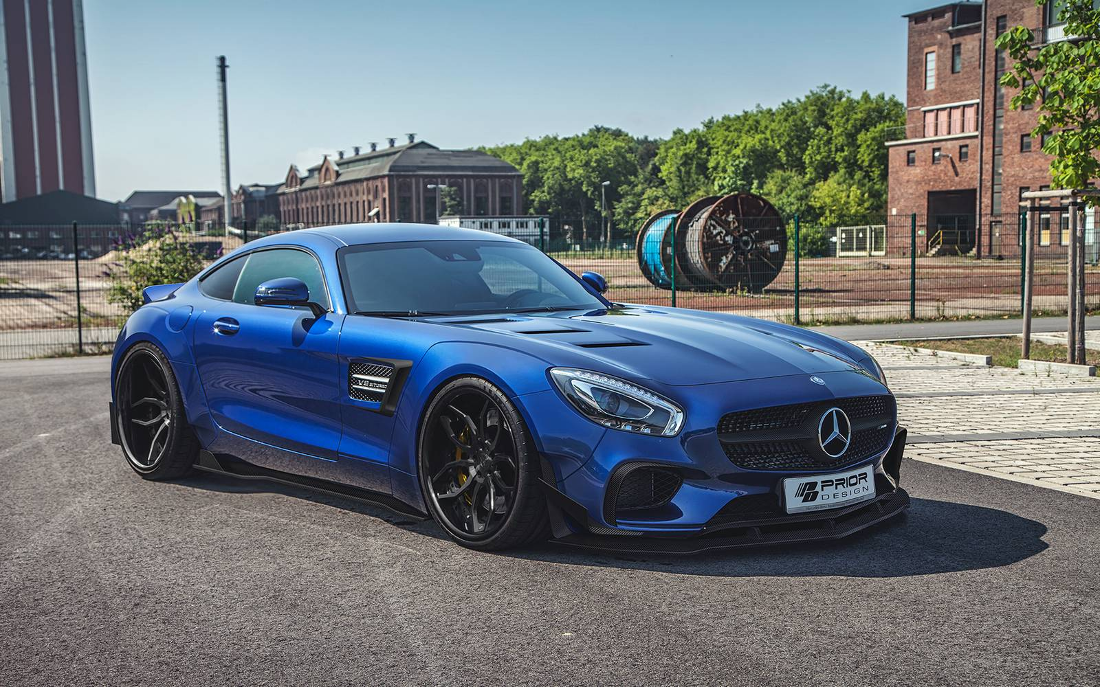 Prior Design Widebody Mercedes Benz AMG GT