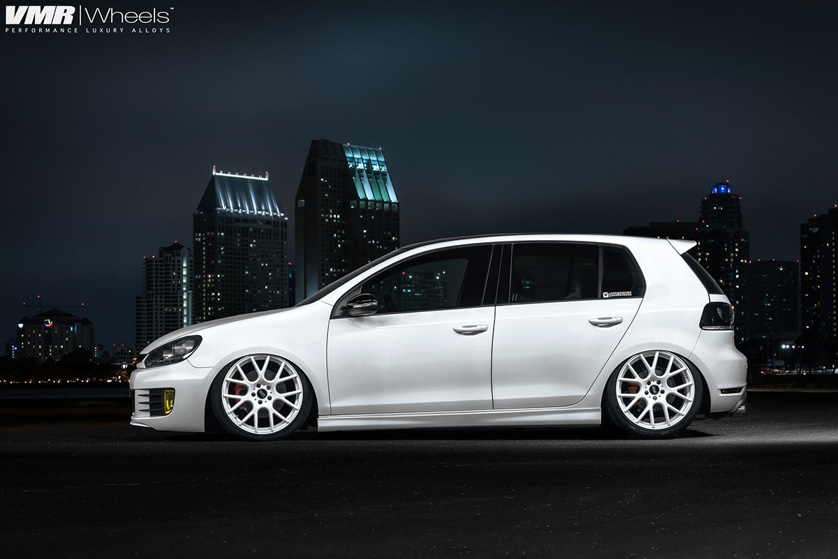 Cosmo10292 Candy White Volkswagen Mk6 Gti Mppsociety