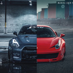 Doczilla12's Liberty Walk Nissan GTR and Ferrari 458 Build Interview