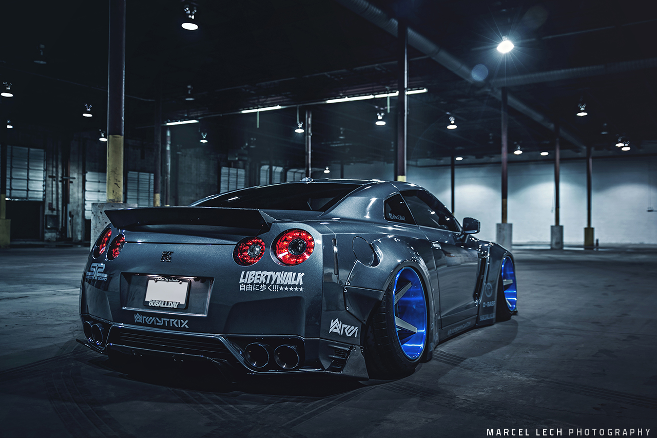 doczilla12 39 s liberty walk nissan gtr and ferrari 458 build interview mppsociety. Black Bedroom Furniture Sets. Home Design Ideas