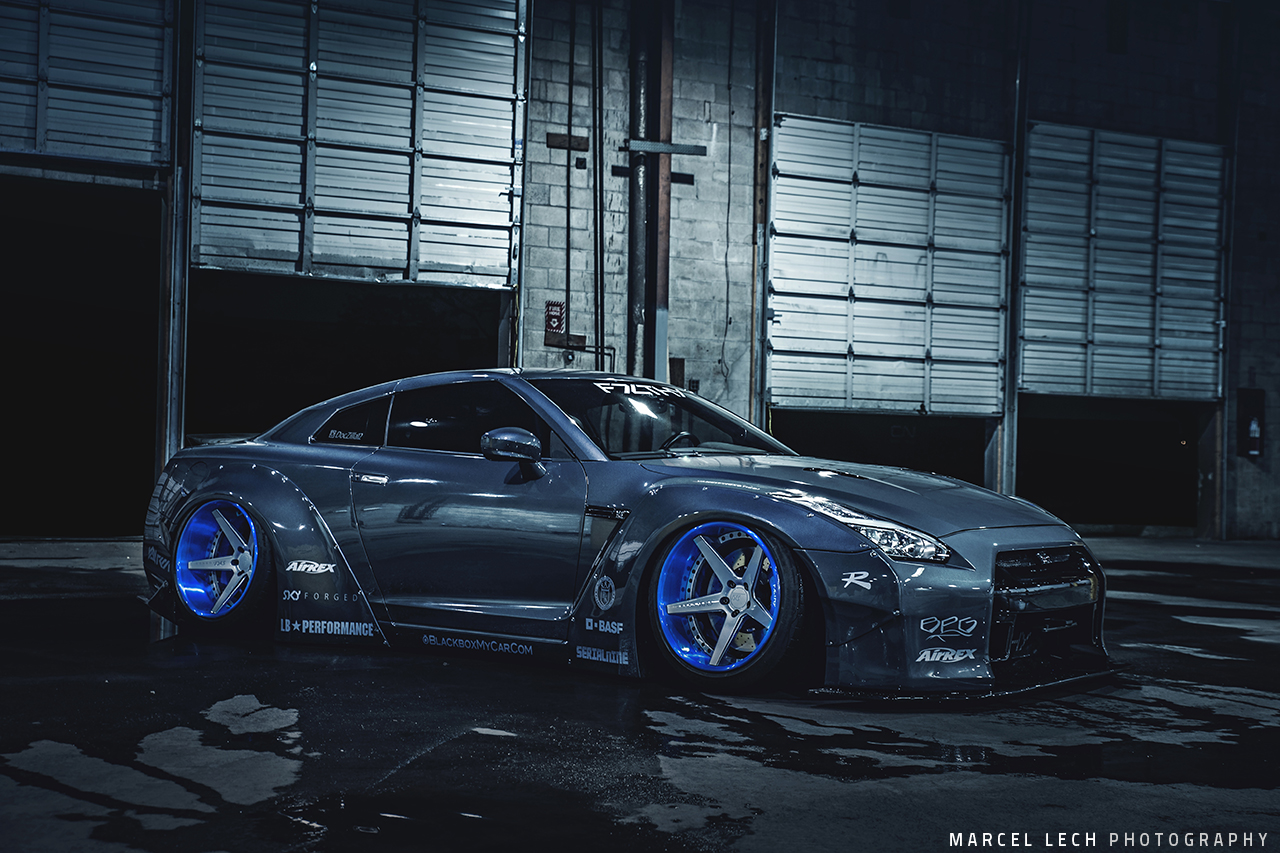 Doczilla12 S Liberty Walk Nissan Gtr And Ferrari 458 Build