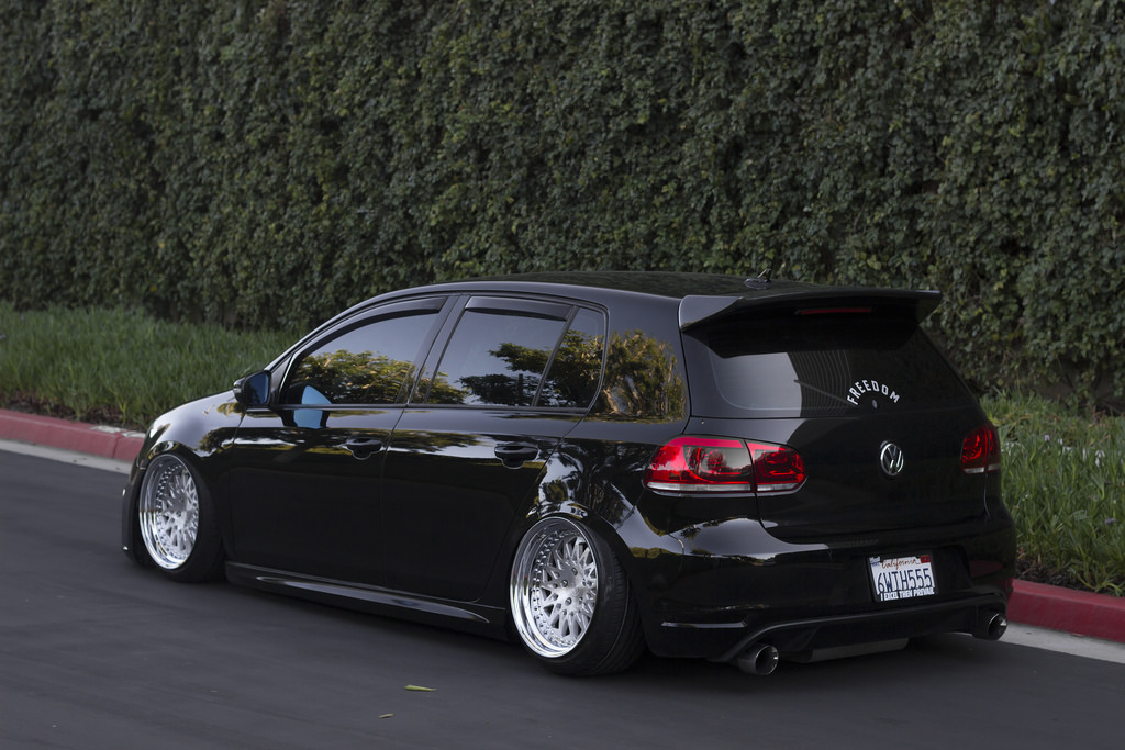 Fwdconnor S Bagged Volkswagen Golf Mppsociety