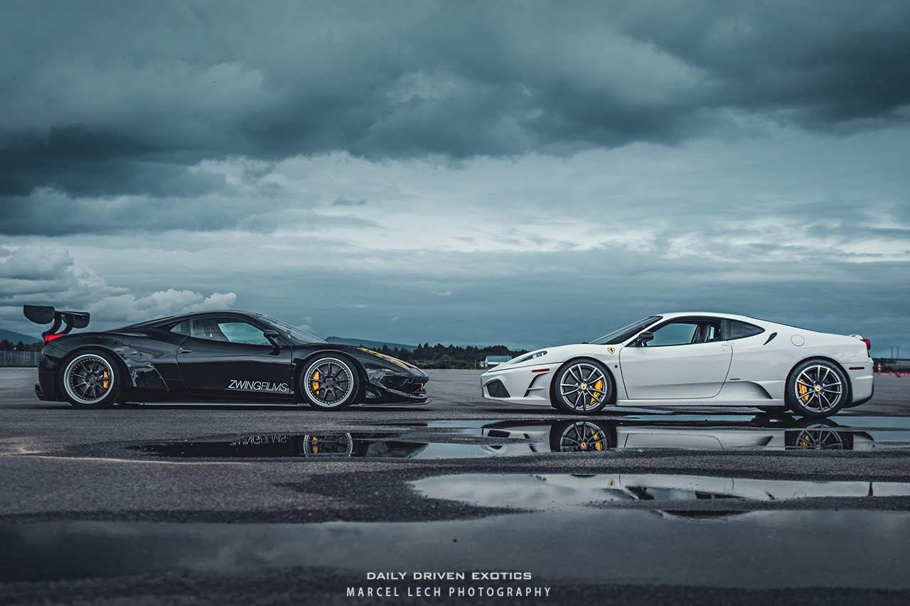 DRIFTING FERRARI's with Professional FD driver Ryan Tuerck!! Zwingfilms