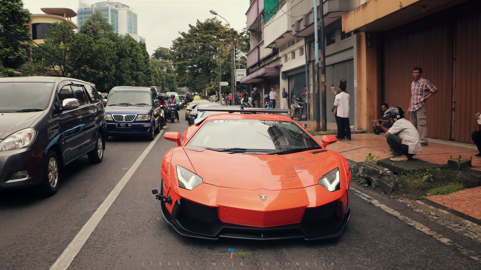 LIBERTY WALK INDONESIA Lamborghini Aventador (Bigtoy Garage)